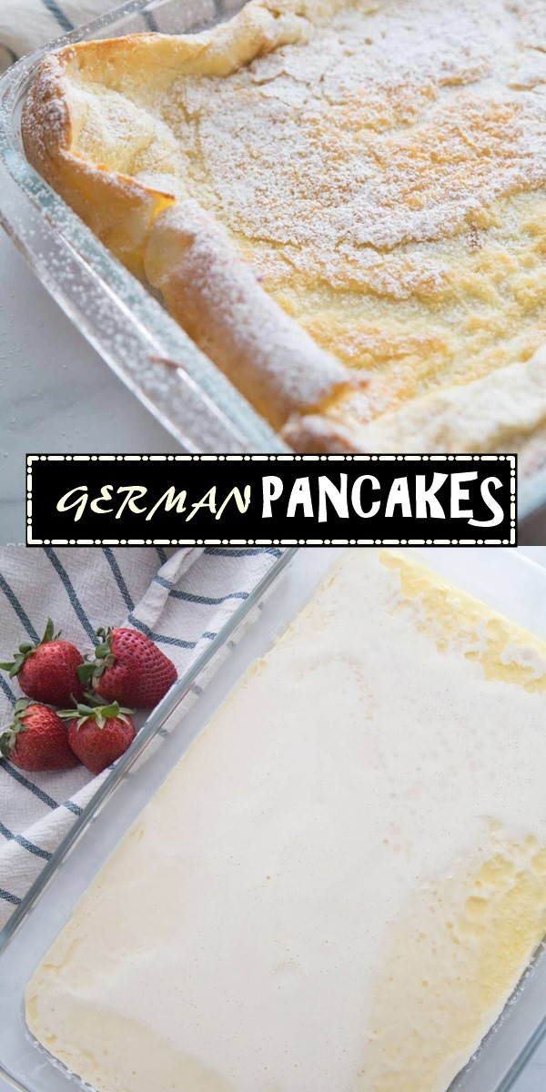 GERMAN PANCAKES #breakfastideas