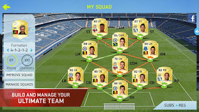 لعبة FIFA 15 Ultimate team