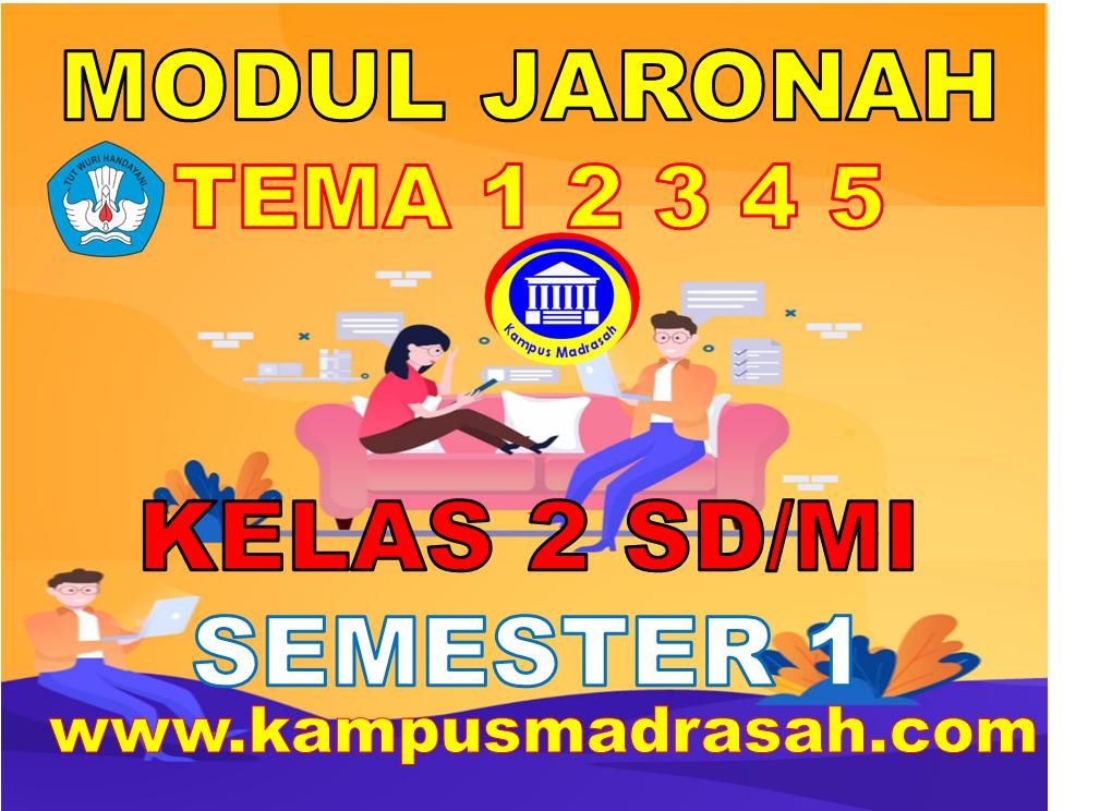 Modul BDR/PJJ Kelas 2 SD/MI