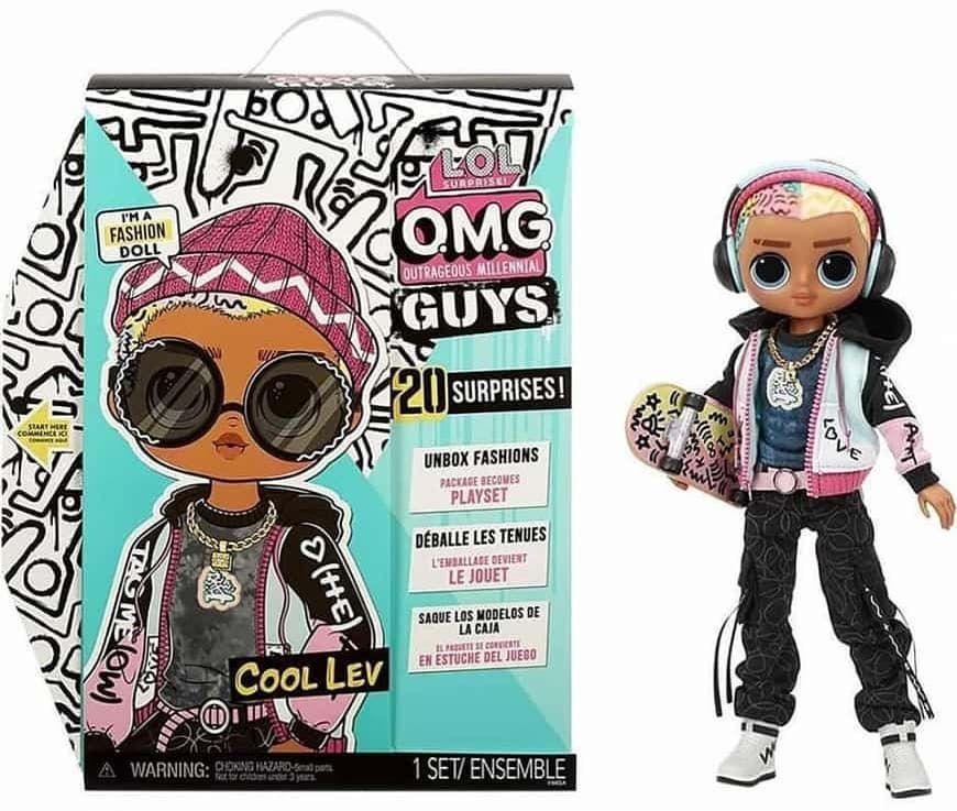 Шарнирная кукла Лол ОМГ Лев Guys 2021