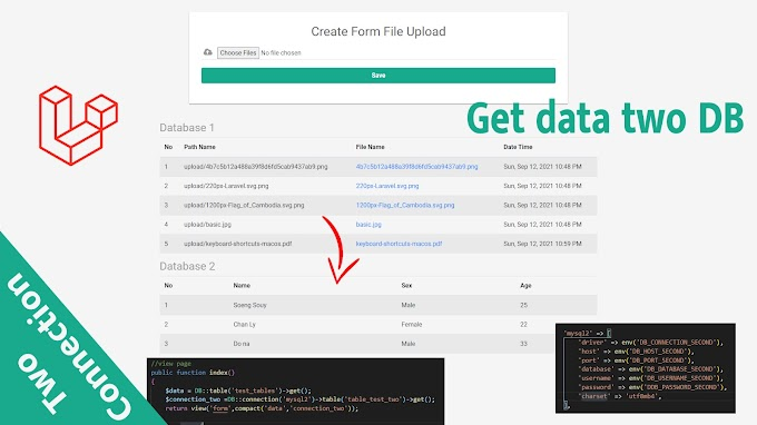 How to use multiple databases in Laravel