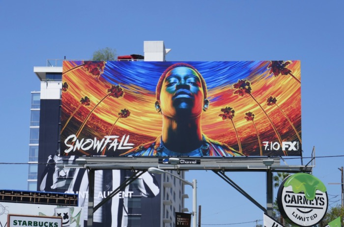 Snowfall season 3 FX billboard