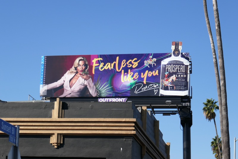 Fearless like you Prospero Tequila Rita Ora billboard
