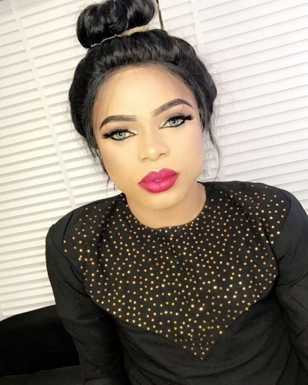 Bobrisky Reacts To Comedian Mc Lively For Saying Him And Blackface Are Not Worthy Mentors