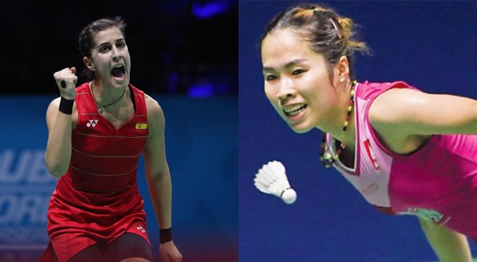 Carolina Marin Ratchanok Intanon final Indonesia Masters 2020
