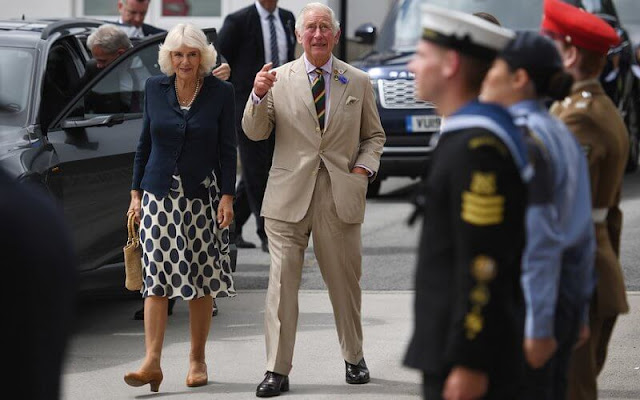The Prince of Wales and The Duchess of Cornwall attended The Great Yorkshire Show at The Great Yorkshire