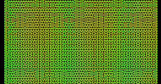 Pseudo Hilbert Curve for Arbitrary Rectangular Regions - Part 2