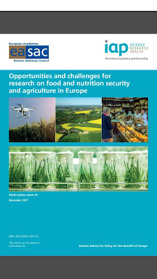 [EBOOK] Opportunities and challenges for research on food and nutrition security and agriculture in Europe, By EASAC