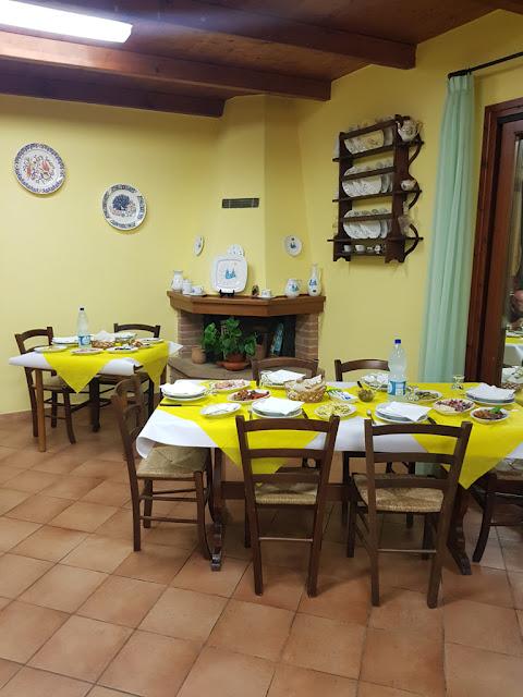 Cena all'agriturismo La grotta del tesoro a Santadi