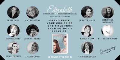 Book Blast: Elizabeth: Obstinate Headstrong Girl + Giveaway #OmgItsOHG
