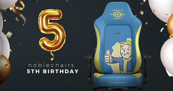 Sorteio Cadeira gamer HERO Fallout Vault-Tec
