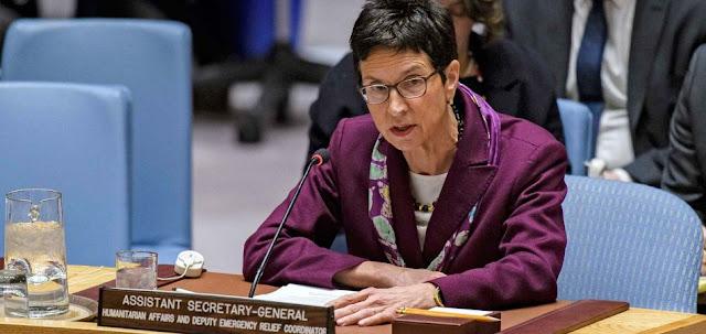 Ursula Mueller Apresiasi Upaya Indonesia Dalam Penanggulangan Bencana
