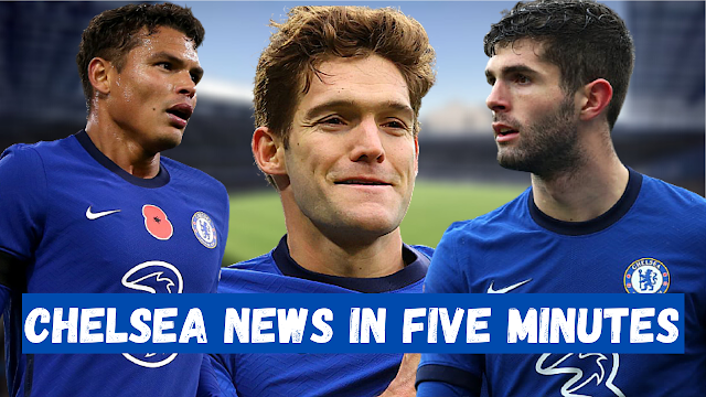 CHELSEA NEWS IN FIVE MINUTES | SILVA S CALL TO ARMS | ALONSO S DEADLINE MOVE | PULISIC S PUMPED!