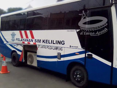 Mobil Layanan SIM Keliling Kota Bandar Lampung