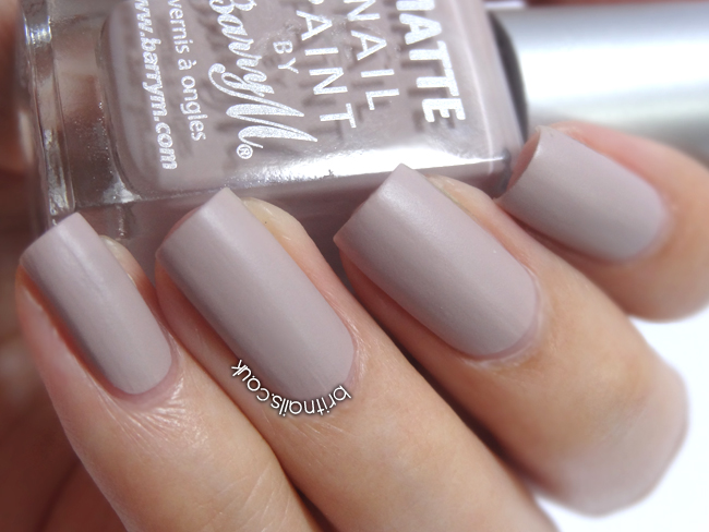 Barry M Nail Polish Matte White Review Hession Hairdressing