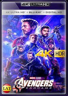 Vengadores: Endgame (2019) REMUX 4K UHD HDR LATINO/INGLES