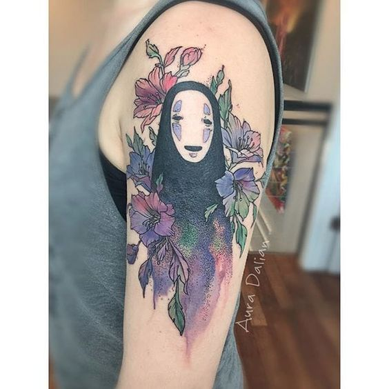 Inspiração: 36 Tatuagens para fãs do Studio Ghibli