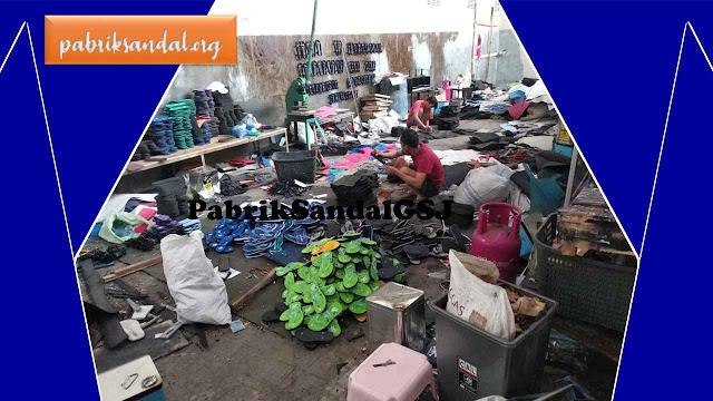 Gudang- Pabrik- Grosir Sandal Terbesar di NUSANTARA