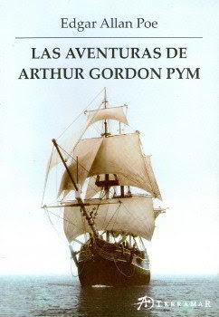 Portada libro La narración de Arthur Gordon Pym descargar pdf gratis