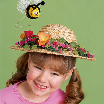 Crafts: Honey of a Hat | Homemade Hats
