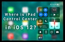 Control Center iOS 12