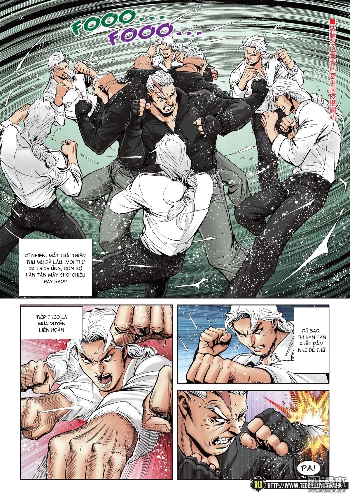 Người Trong Giang Hồ chapter 2052: hàn tân chiến thiên thu 3 trang 9