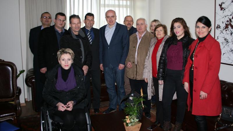 Συνάντηση του Περιφερειάρχη ΑΜ-Θ με το Δ.Σ. της Περιφερειακής Ομοσπονδίας Ατόμων με Αναπηρία