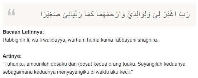 Doa untuk Orang Tua yang Sudah Meninggal Dunia