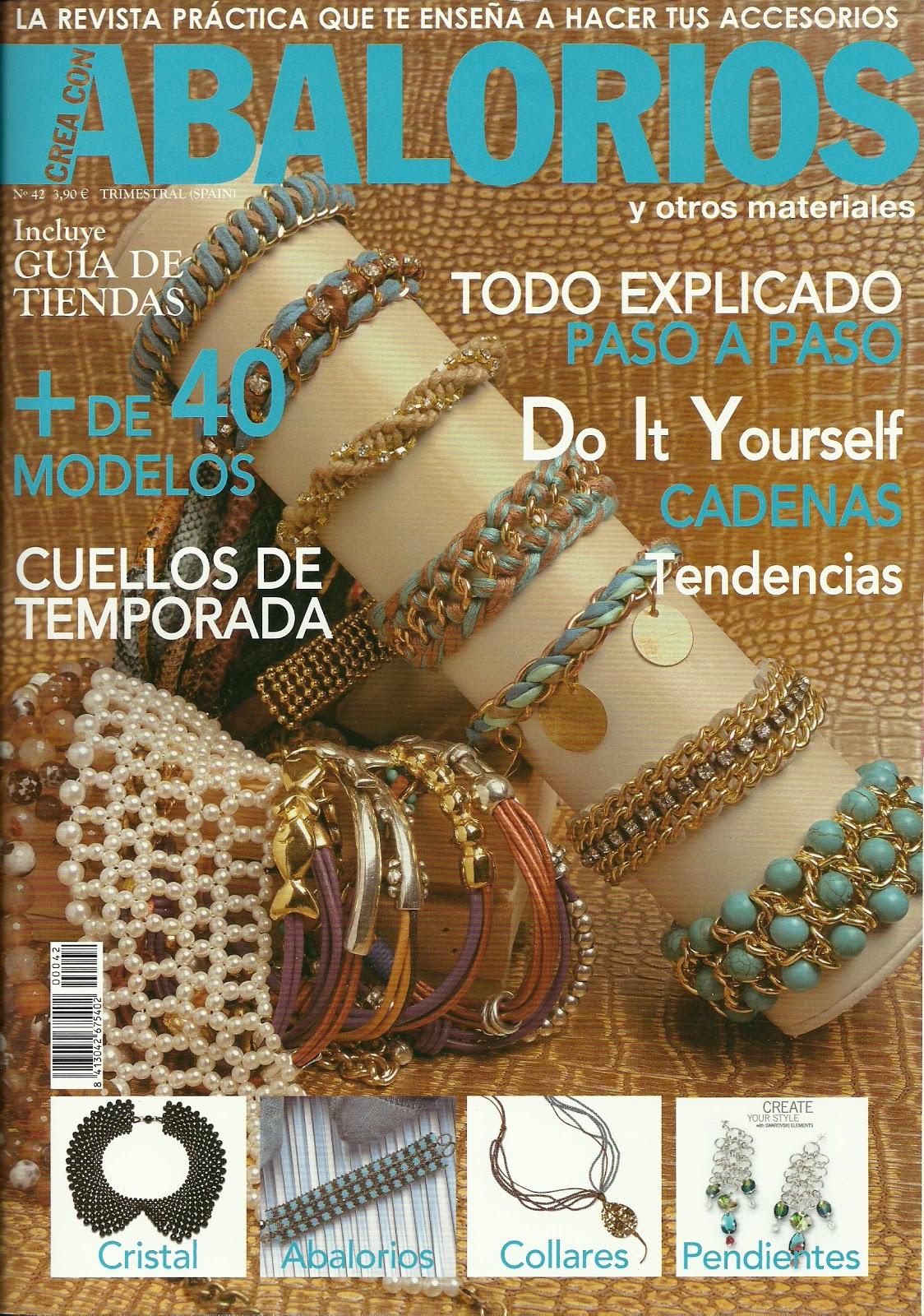 befeb950ee51 ABALORIOS Y OTRAS JOYAS ! !: Revista crea con abalorios Nº 42