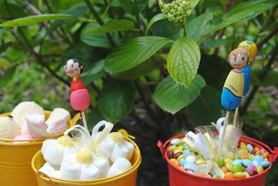 segnaposto per feste bambini; gadget; bomboiniera