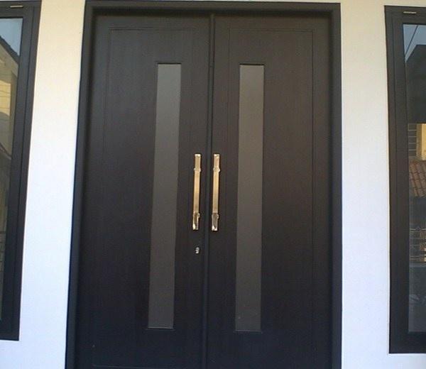model pintu rumah minimalis 2 pintu terbaru 2020