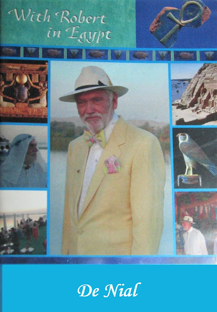 Fellowship of Friends cult leader video - Robert Earl Burton in Egypt the Nile (De Nial)