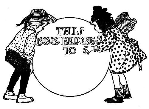 Reading, Roses & Prose: Bookplate for Children's Books