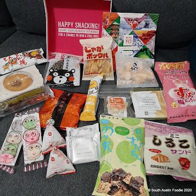 Bokksu box of Japanese snacks