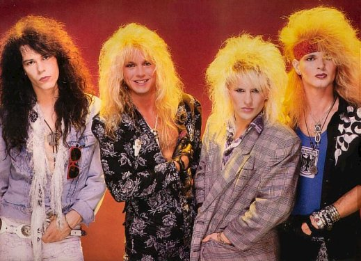Poison 80s Glam Metal Band