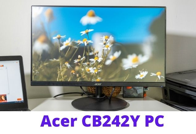 Acer CB242Y: Inexpensive monitor with a reasonably good display