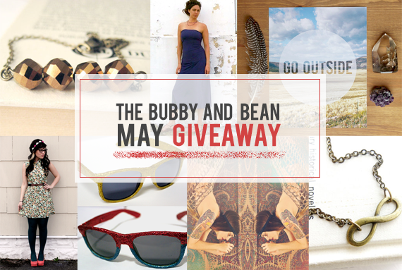 The Bubby and Bean Big May Giveaway // Win 6 Prizes Worth $215!