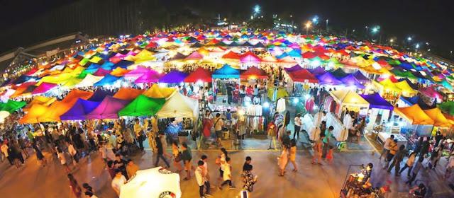 lokasi pasar malam di shah alam