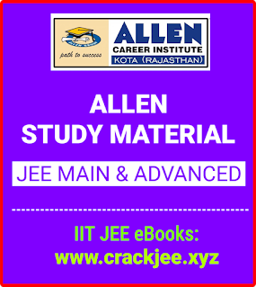 Allen Study Material for JEE Main and Advanced