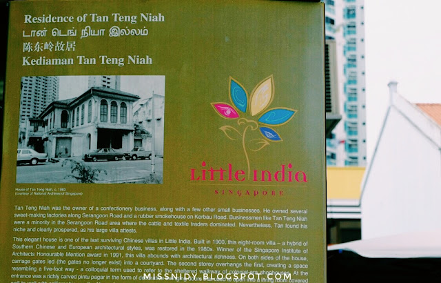 residence of tan teng niah in singapore