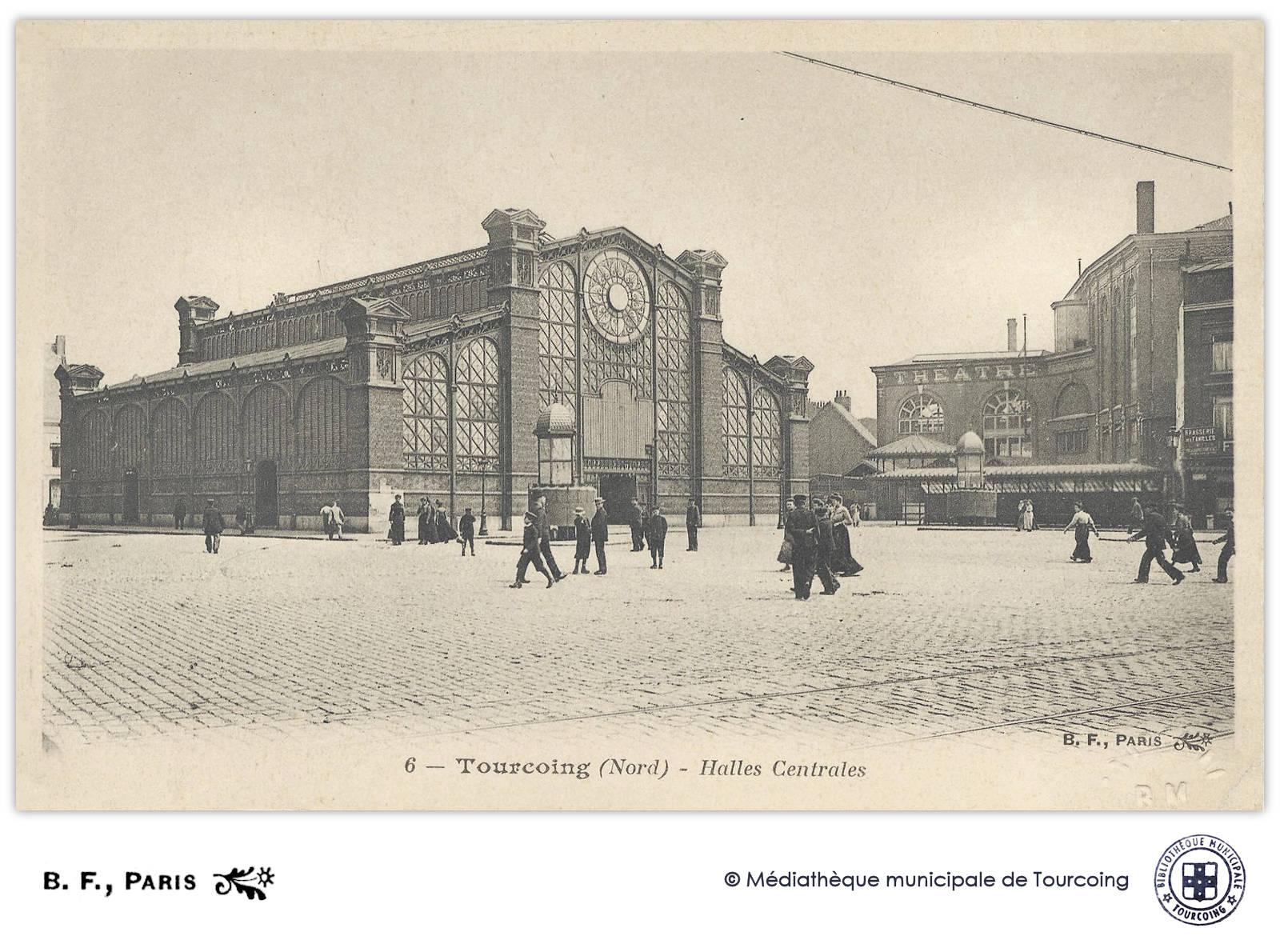 BF 6 Paris - Tourcoing, Halles Centrales