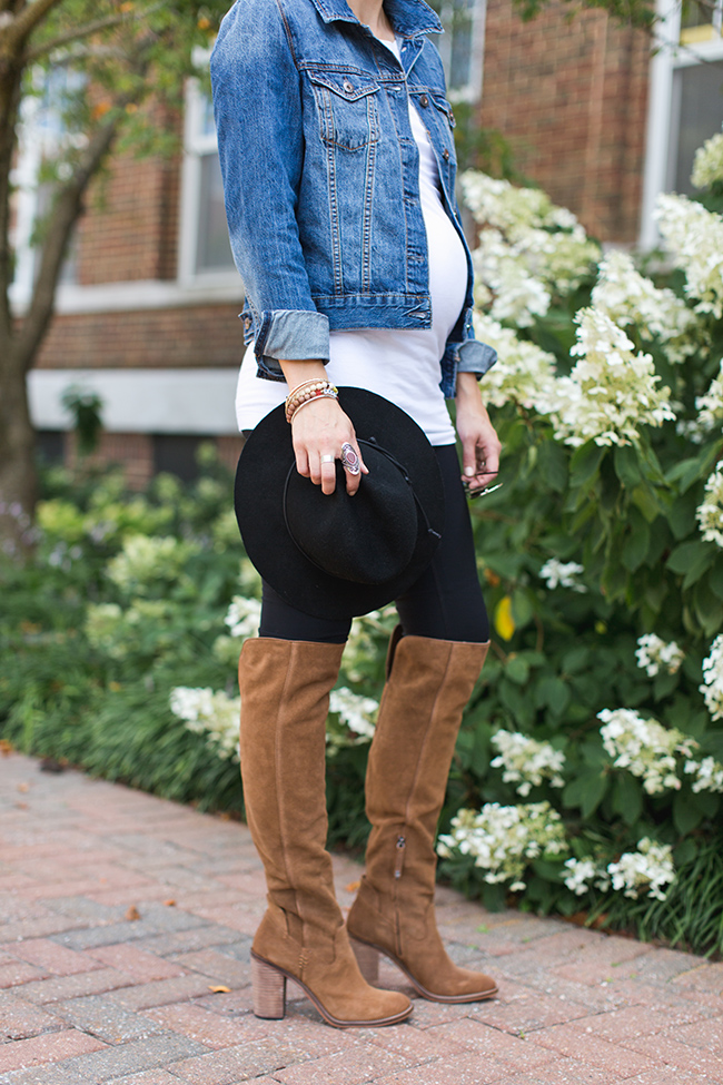 Knee High Boots Maternity Style One Little Momma