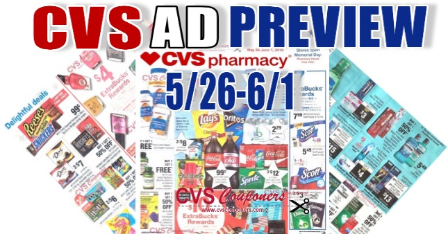 CVS Weekly Ad Preview - 526-61