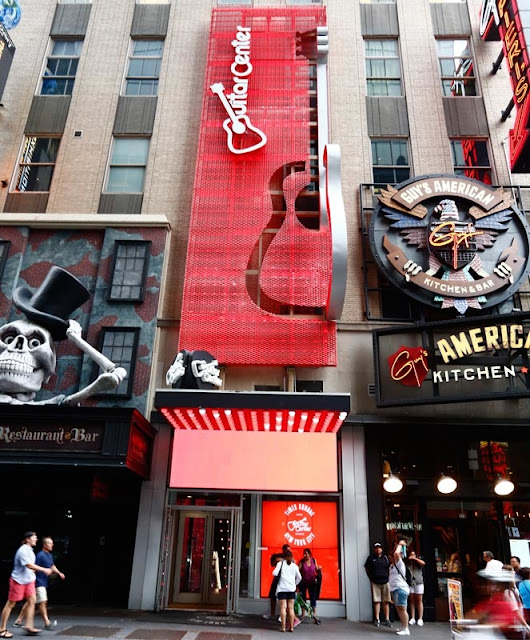 Guitar Center em Nova York