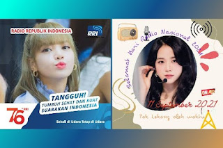 10 Bingkai Twibbon HUT Radio Republik Indonesia RRI Ke-76 11 September 2021 Terbaik di Twibbonize