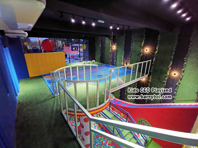Attraction Must Visit in Penang Kids CEO Playland Cafe KellyFrans Penang Blogger Influencer