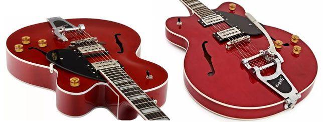 Guitarras Gretsch de Cuerpo Hueco y Semi-sólido