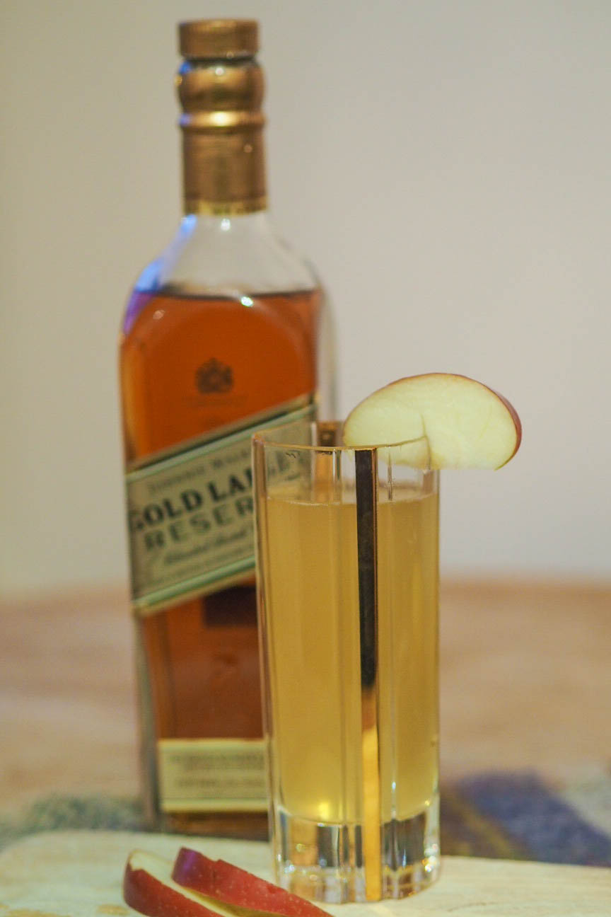 Johnnie Walker signature cocktail