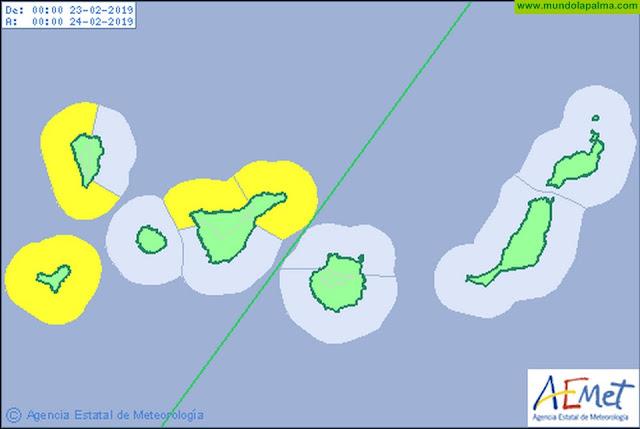 Avisos por fenómenos costeros y riesgo de incendio para este fin de semana en el que también contaremos con calima