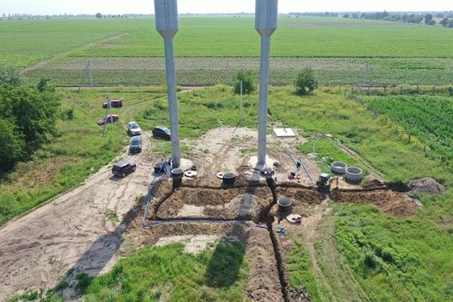 Sunt în plină desfășurare lucrările de construcție a rețelelor interioare de apeduct în localitățile Sârma și Tochile-Răducani din raionul Leova